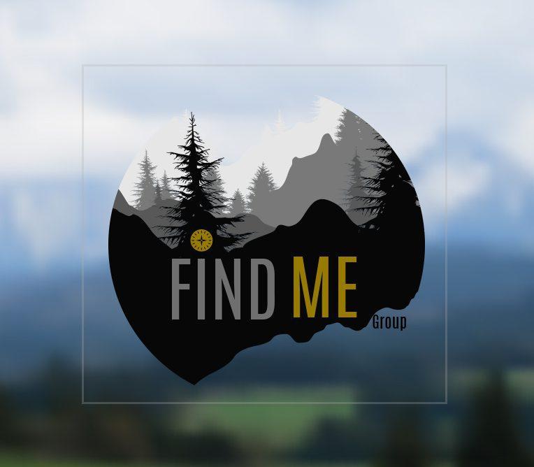 Find Me Website Footer Logo with BG